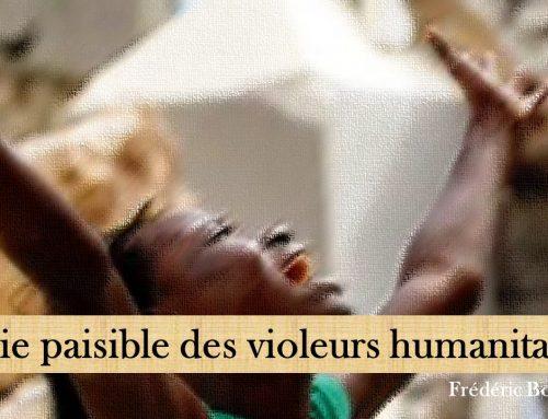 LA VIE PAISIBLE DES VIOLEURS HUMANITAIRES