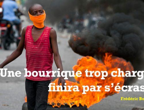 UNE BOURRIQUE TROP CHARGÉE FINIRA PAR S'ÉCRASER